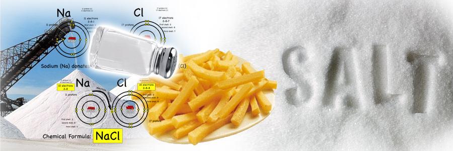 Kuhinjska so osiromašena je mineralima. Višak soli u ishrani šteti zdravlju.. Rafinisana kuhinska so može pomoći jedino u razvoju bolesti, naročito srčanih.