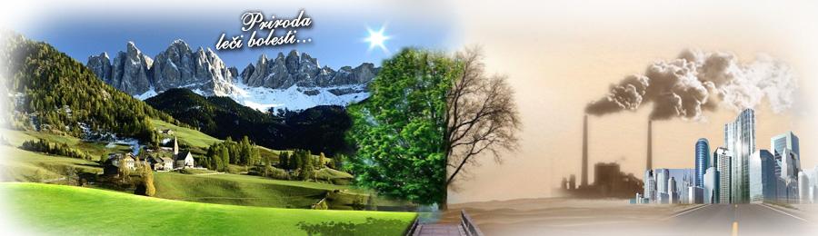 Priroda leči bolesti - boravak u prirodi je deo terapije. Gradski život, zagađenje i stres, uništavaju naše zdravlje. Priroda vraća izgubljenu ravnotežu.