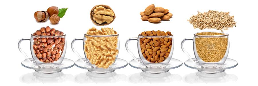 Biljno mleko - semenke i orašasti plodovi