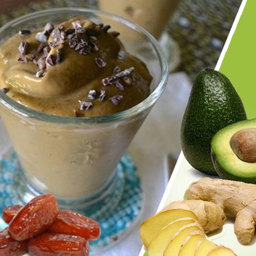 chai choco green smuti smoothie veganski obrok