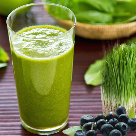 super green smuti smoothie veganski obrok