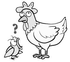 Kokoška ili jaje - pitanje je sad. Teške bolesti, poput one tumorske, mogu biti izlečene pravilnom informacijom tj. zauzimanjem pravilnog duhovnog stava.