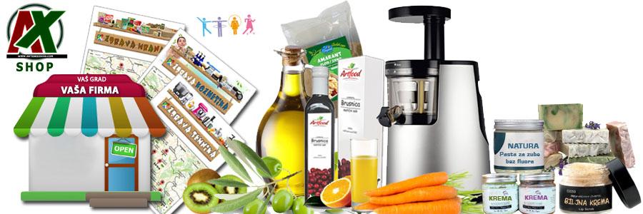 AX Shop - zdrava hrana, organska hrana, lekovito bilje, zdrava kozmetika