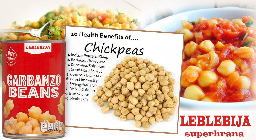 Leblebija - superhrana vaše kuhinje - Sirova hrana leči teške bolesti. Lečenje raka alternativom i sirovom biljnom hranom. Antioksidans.