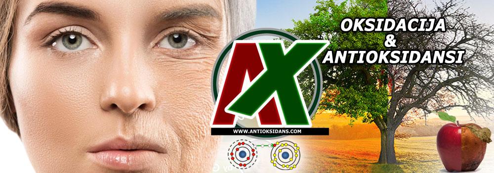 Oksidacija i antioksidansi - oksidacija oštećuje, antioksidansi leče ili bolje rečeno popravljaju šta se popraviti može (AX - čuvari zdravlja i lepote).